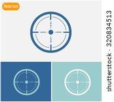 sight vector icon. | Shutterstock .eps vector #320834513