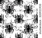 spider pattern  grunge  black...