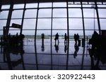 interior of an airport terminal ... | Shutterstock . vector #320922443