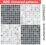 400 universal patterns set ...