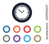 clock icon for web and mobile | Shutterstock .eps vector #320950247