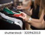 Young Beautiful Women Shopping...