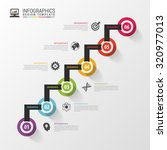 modern business step by step... | Shutterstock .eps vector #320977013
