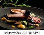 haute cuisine asian fusion ... | Shutterstock . vector #321017393