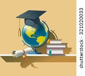 attributes of education. vector ... | Shutterstock .eps vector #321020033