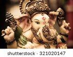 yellow rasin ganesh elephant... | Shutterstock . vector #321020147