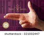 template for brochures  flyers  ... | Shutterstock .eps vector #321032447