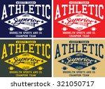 brooklyn sports design  south... | Shutterstock .eps vector #321050717