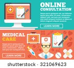 online consultation and medical ... | Shutterstock . vector #321069623