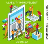 gui design tablet app ui ux...