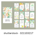 calendar 2016. templates with... | Shutterstock .eps vector #321103217