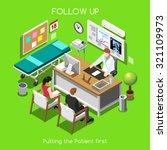 Постер, плакат: Clinic Follow Up Patient