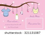 baby announcement | Shutterstock .eps vector #321131087