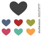 heart sign | Shutterstock . vector #321173777