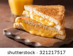 Homemade Grilled Cheese...