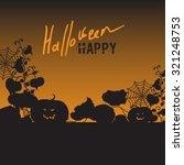 background with halloween.black ... | Shutterstock .eps vector #321248753