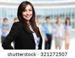 portrait of a smiling woman in... | Shutterstock . vector #321272507