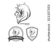 lion for logo  american... | Shutterstock . vector #321357353