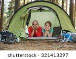 camping | Shutterstock . vector #321413297