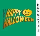 happy halloween | Shutterstock .eps vector #321459377
