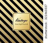 gold glittering diagonal lines... | Shutterstock .eps vector #321463337