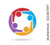 social media network logo | Shutterstock .eps vector #321467597