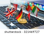global communication and... | Shutterstock . vector #321469727