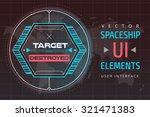 ui hud infographic interface...