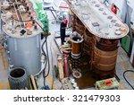 details of broken high voltage... | Shutterstock . vector #321479303