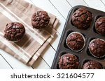 Just Baked Chocolate Muffins I...
