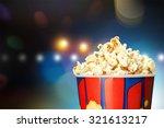 popcorn.   Shutterstock . vector #321613217