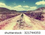 empty road nature and ramble.... | Shutterstock . vector #321744353