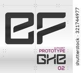prototype   vector graphic... | Shutterstock .eps vector #321744977