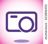 camera vector icon 10 eps