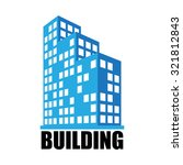 buildings and office icon  | Shutterstock .eps vector #321812843
