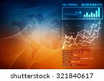 digital world map  ... | Shutterstock . vector #321840617