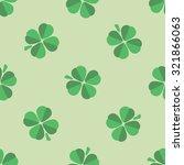 seamless nice green  pattern...   Shutterstock .eps vector #321866063