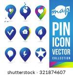 map pins icon pictogram logos   ...