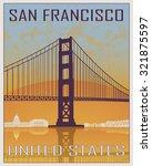 San Francisco Vintage Poster I...