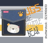 Cute Teddy Bear Cartoon  T...