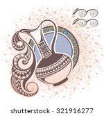 aquarius. zodiac sign | Shutterstock .eps vector #321916277