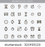 collection of various hand... | Shutterstock .eps vector #321935123