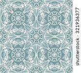vector seamless ornamental lace ... | Shutterstock .eps vector #321936377