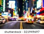 Blurred Street Illumination An...