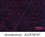Abstract  background with geometric pattern. Eps10 Vector illustration.  | Shutterstock vector #321978797