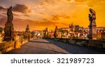 Panorama Of Charles Bridge Wit...