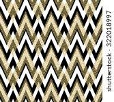 Stock vector pattern in zigzag classic chevron seamless pattern vector design 322018997