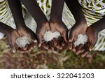 Group Of African Black Childre...