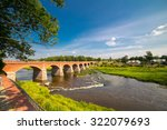 andscape with old brick bridge | Shutterstock . vector #322079693