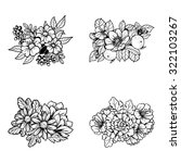 flower set | Shutterstock .eps vector #322103267